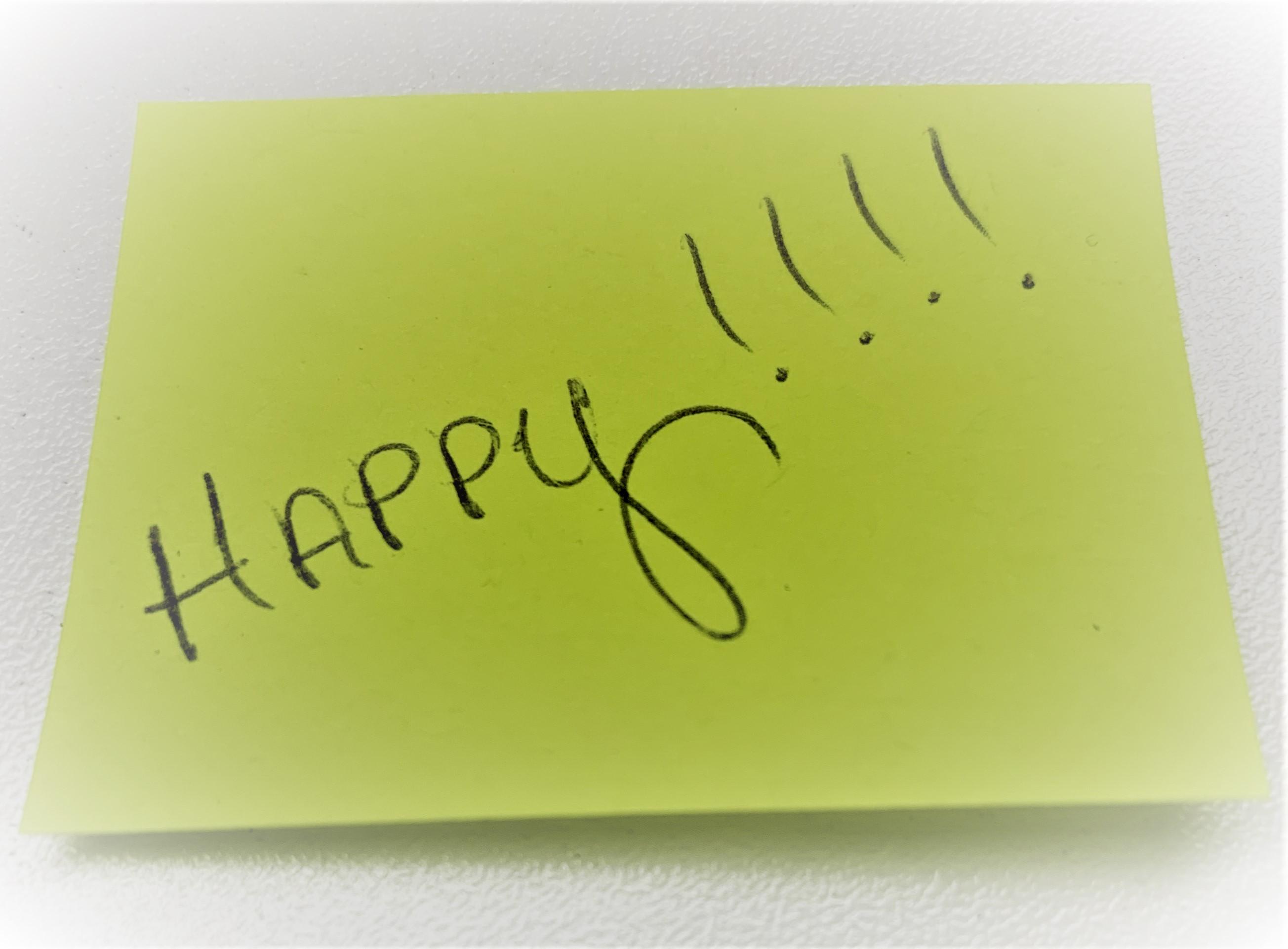 happy....