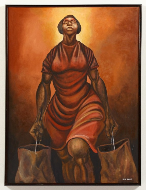 Culturetype.com: Collection of California African American Museum, © Ernie Barnes Family Trust