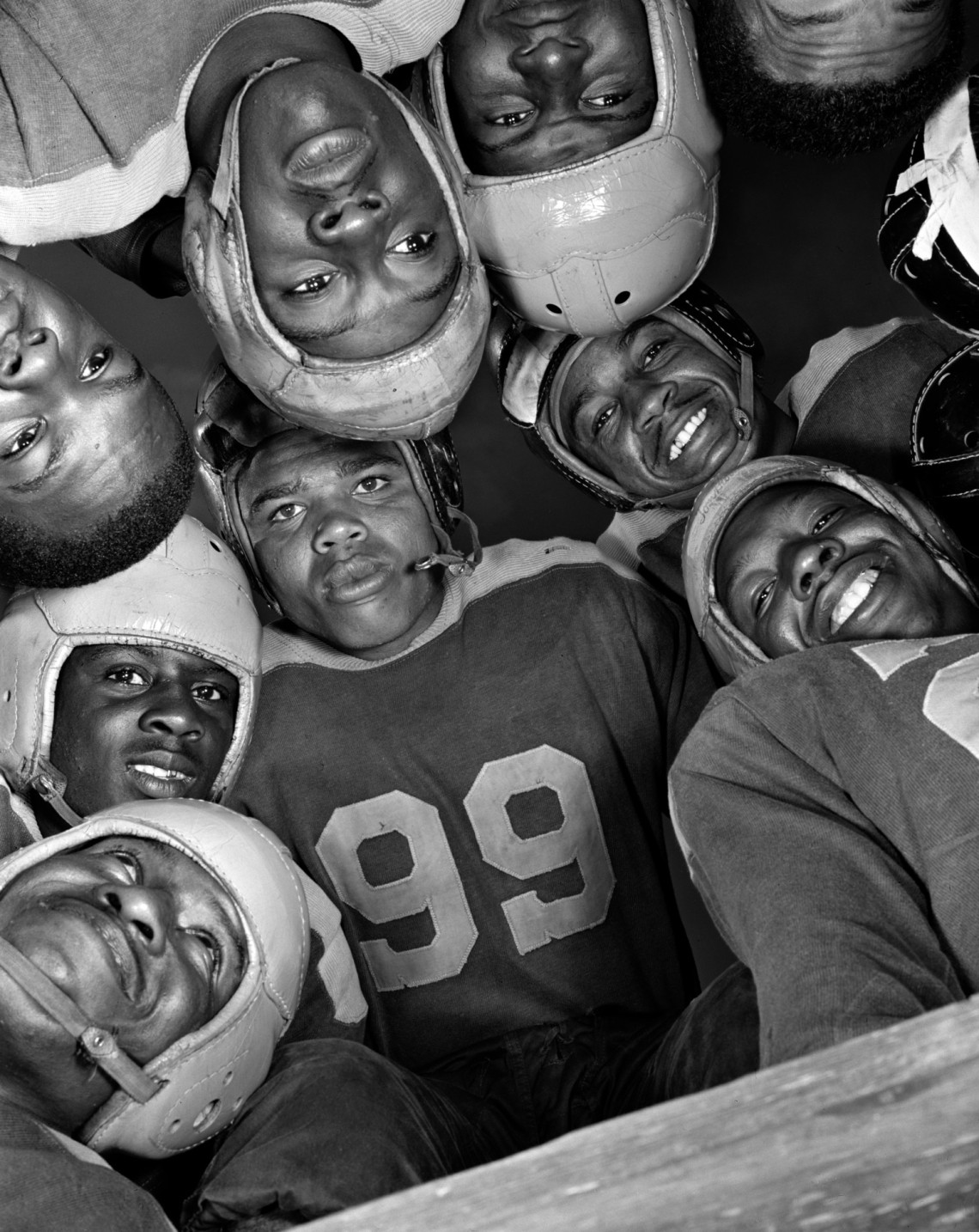 Football, Bethune-Cookman College. Florida 1943