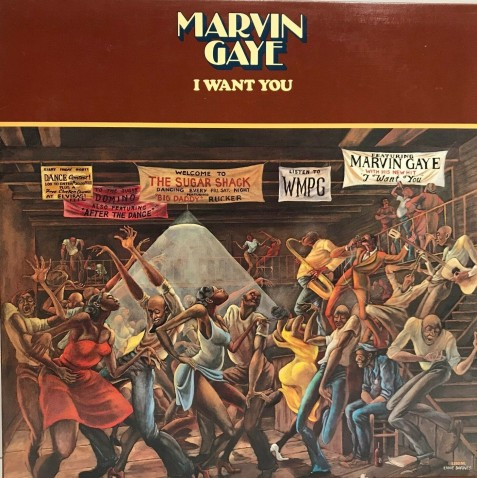 Marvin Gaye's allbum, I Want You