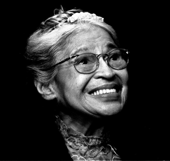 The Nation. Rosa Parks smiles during a ceremony where she received the Congressional Medal of Freedom in Detroit, November 28, 1999. (AP Photo / Paul Sancya)