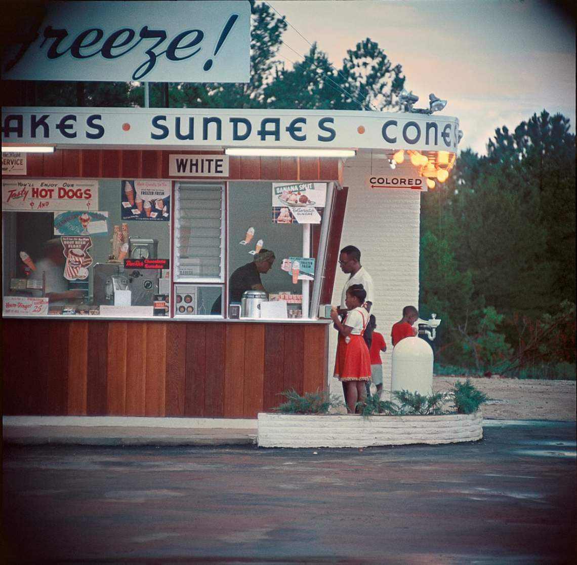 Untitled Shady Grove Alabama 1956